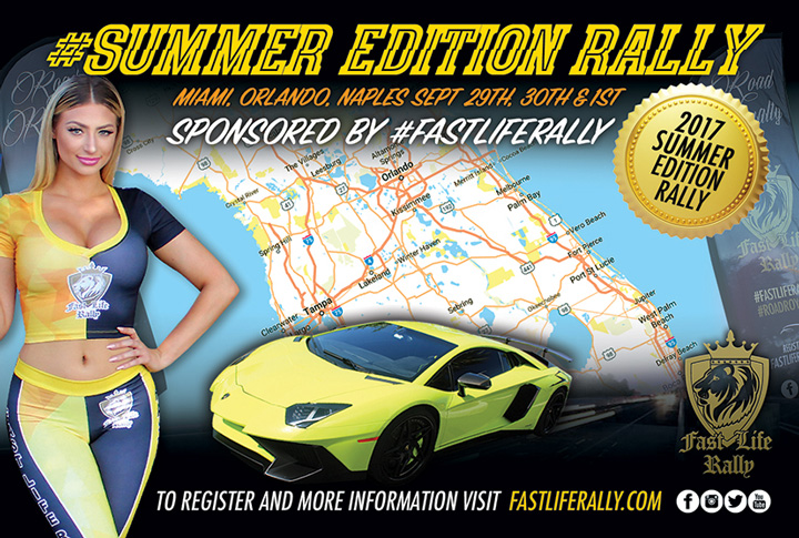 Fast Life Rally- Summer Edition